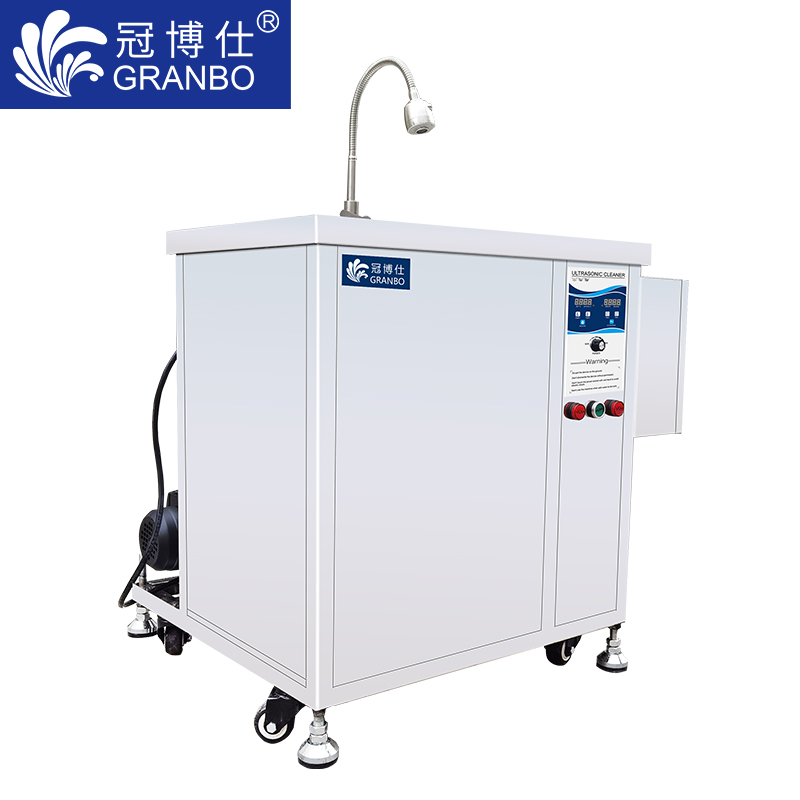 冠博仕 厨具超声波清洗机  带喷淋  过滤循环系统  支持定制
